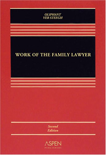 Work of the Family Lawyer  2nd 2008 (Revised) edition cover