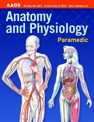 Paramedic Anatomy and Physiology  2004 edition cover
