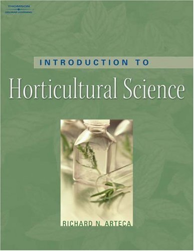 Introduction to Horticultural Science   2006 edition cover