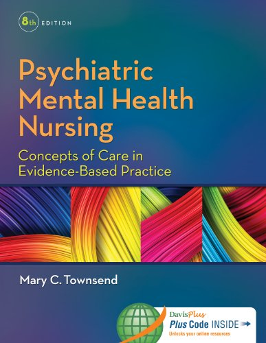 Psychiatric Mental Health Nursing: Concepts of Care in Evidence-Based Practice 8th 2014 9780803640924 Front Cover