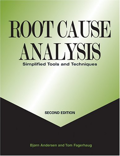 Root Cause Analysis : Simplified Tools and Techniques 2nd 2006 edition cover