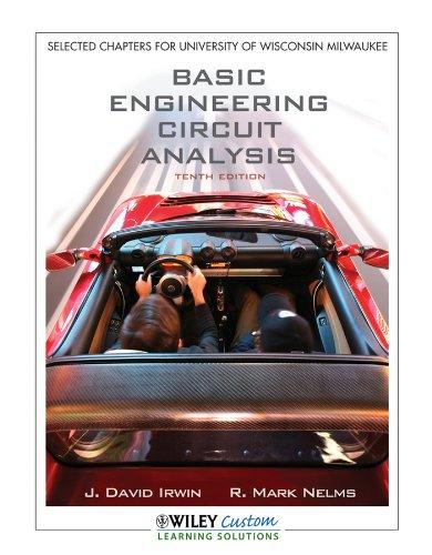Basic Engineering Circuit Analysis 10E for Uwmadison   2011 9781118118924 Front Cover