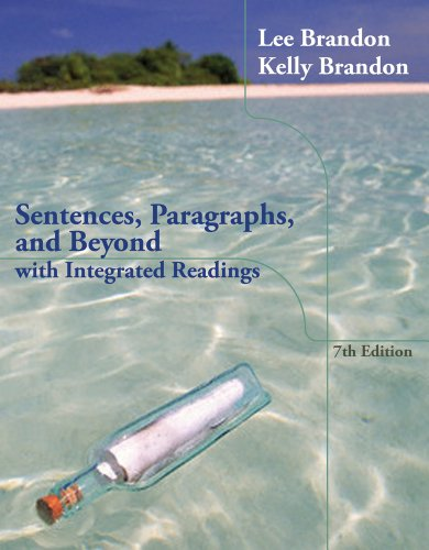 Sentences, Paragraphs, and Beyond With Integrated Readings 7th 2014 edition cover