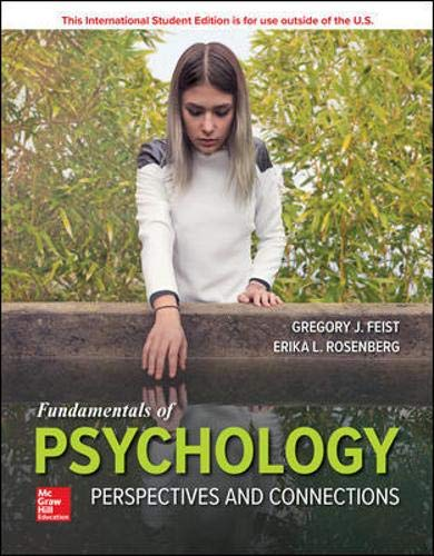 ISE Fundamentals of Psychology: Perspectives and Connections 1st 9781260547924 Front Cover