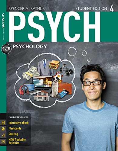 Psych + Coursemate Access Card:  4th 2015 edition cover