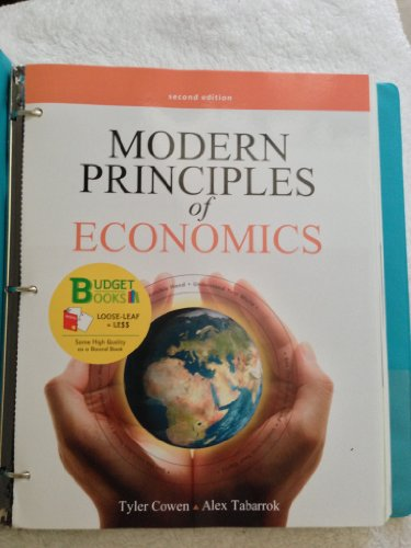 Modern Principles of Economics  2nd 2012 edition cover