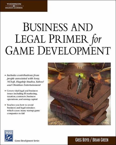 Business and Legal Primer for Game Development   2007 9781584504924 Front Cover