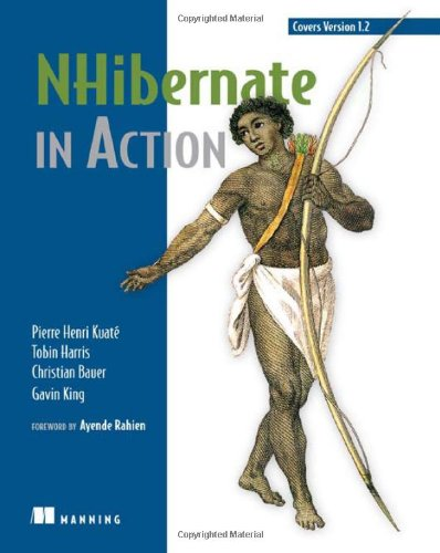 NHibernate in Action   2007 9781932394924 Front Cover