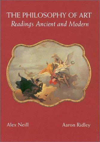 Philosophy of Art Readings Ancient and Modern  1995 edition cover