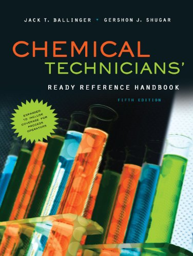 Chemical Technicians'  5th 2011 edition cover
