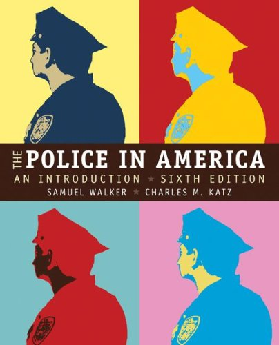 Police in America An Introduction 6th 2008 edition cover