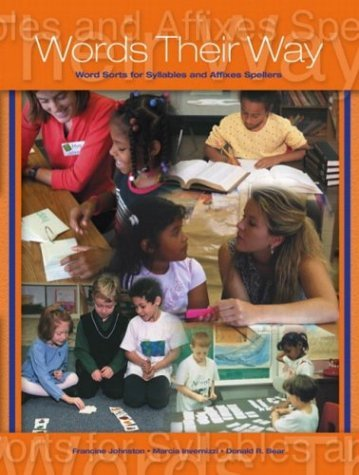Words Their Way Word Sorts for Syllables and Affixes Spellers  2005 edition cover