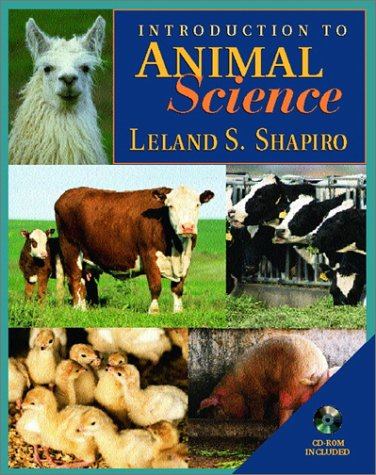 Introduction to Animal Science   2001 9780139209925 Front Cover