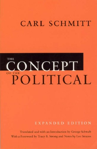 Concept of the Political   2007 (Enlarged) edition cover