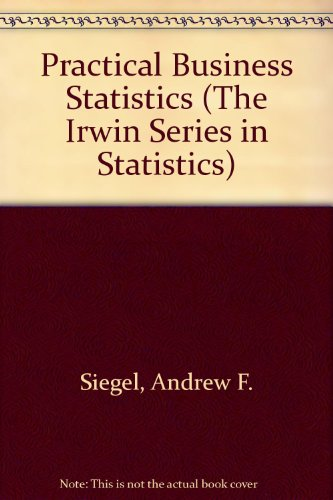 Practical Business Statistics 3rd 9780256214925 Front Cover