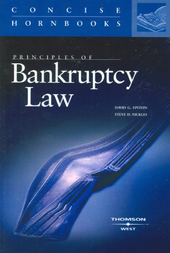 Principles of Bankruptcy Law   2007 edition cover