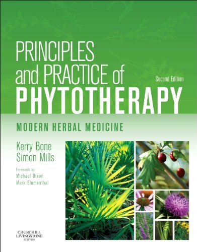 Principles and Practice of Phytotherapy Modern Herbal Medicine 2nd 2012 edition cover
