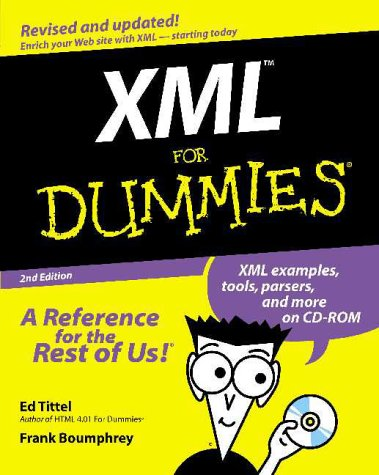 XML for Dummies  2nd 2000 9780764506925 Front Cover