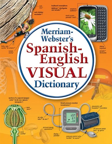 Merriam-Webster's Spanish-English Visual Dictionary   2011 edition cover