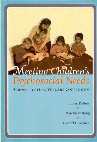 Meeting Children's Psychosocial Needs Across the Healthcare Continuum   2005 edition cover