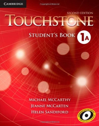 Touchstone Level 1 Student's Book A  2nd 2013 (Revised) 9781107627925 Front Cover