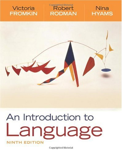 Introduction to Language  9th 2011 edition cover