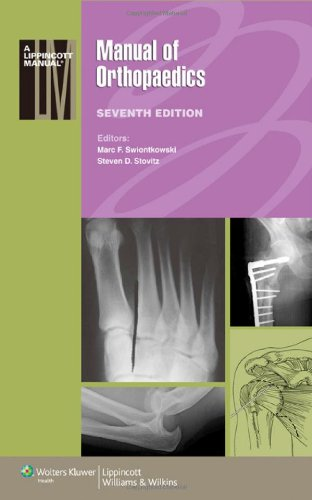 Manual of Orthopaedics  7th 2012 (Revised) edition cover
