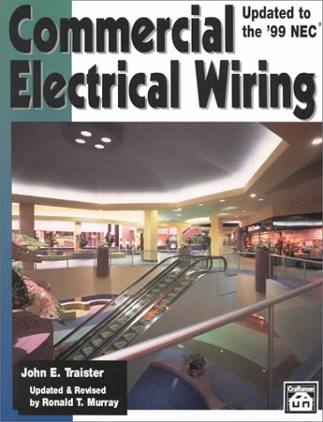 Commercial Electrical Wiring : Updated to the 1999 NEC 2nd 1999 (Revised) edition cover