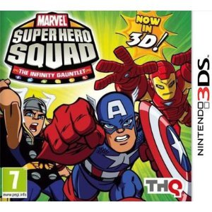 Marvel Super Hero Squad: The Infinity Gauntlet 2 (Nintendo 3DS) Nintendo 3DS artwork