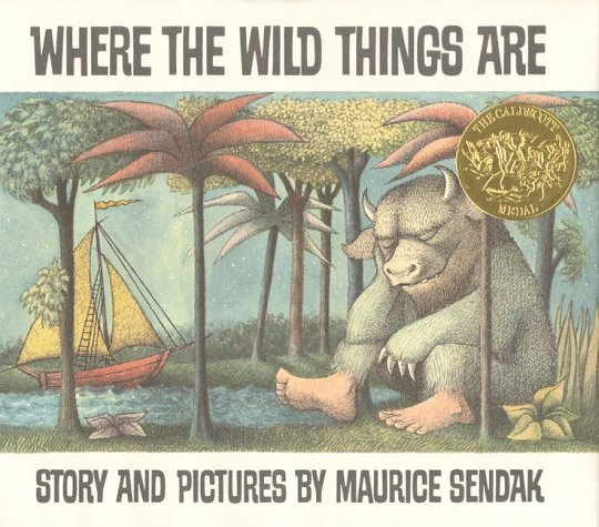Where the Wild Things Are  25th 1991 (Anniversary) 9780060254926 Front Cover