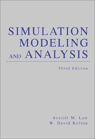 Simulation Modeling and Analysis  3rd 2000 (Revised) edition cover