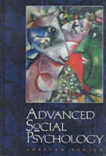 Advanced Social Psychology   1995 9780070633926 Front Cover