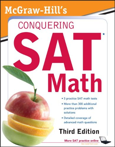Conquering SAT Math  3rd 2011 edition cover