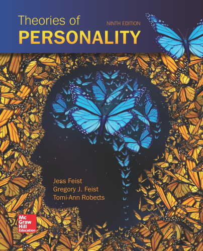 Theories of Personality  9th 2018 edition cover