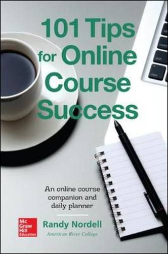 101 Tips for Online Course Success An Online Course Companion and Daily Planner  2015 edition cover