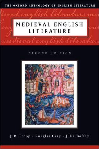 Medieval English Literature  2nd 2001 (Revised) edition cover