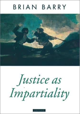 Justice as Impartiality   1996 (Reprint) edition cover