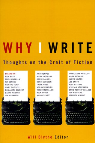 Why I Write Thoughts on the Craft of Fiction  1998 edition cover