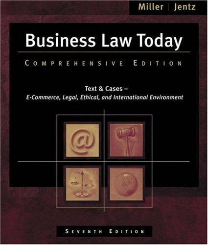 Business Law Today  7th 2007 (Revised) edition cover