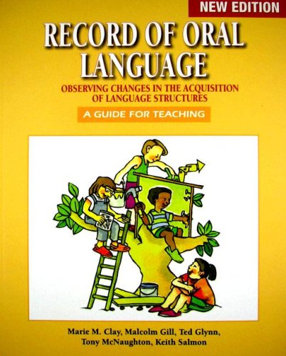 Record of Oral Language   2007 edition cover