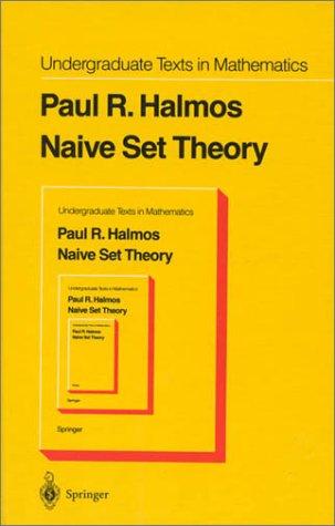 Naive Set Theory   1974 (Reprint) edition cover