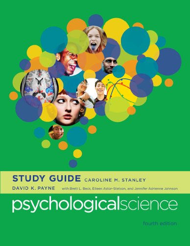 PSYCHOLOGICAL SCI.-STD.GD.(FAL N/A edition cover
