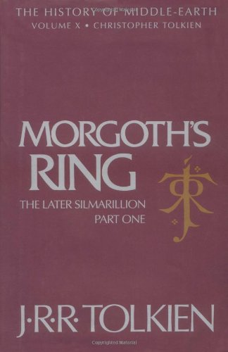 Morgoth's Ring The Later Silmarillion  1993 edition cover