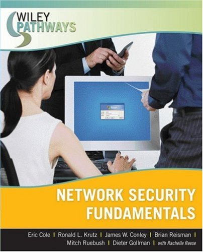 Wiley Pathways Network Security Fundamentals   2008 edition cover