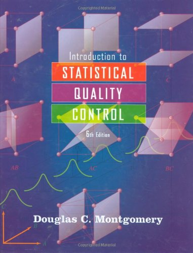 Introduction to Statistical Quality Control  6th 2009 edition cover
