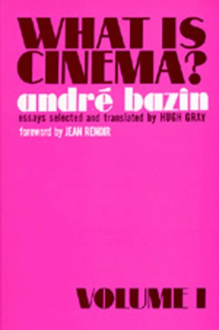 What Is Cinema?   1967 edition cover