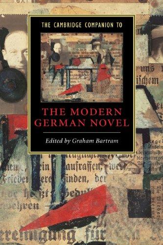 Cambridge Companion to the Modern German Novel   2004 9780521483926 Front Cover