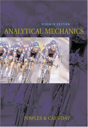 Analytical Mechanics  7th 2005 (Revised) 9780534494926 Front Cover