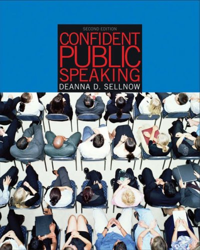 Confident Public Speaking  2nd 2005 (Revised) edition cover