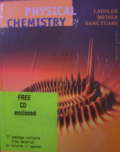 Physical Chemistry  4th 2003 (Student Manual, Study Guide, etc.) edition cover